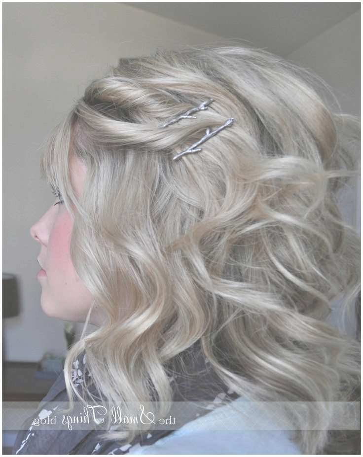 40 Best Hair Accessories Images On Pinterest | Short Hairstyle Intended For Latest Medium Hairstyles With Bobby Pins (View 18 of 25)