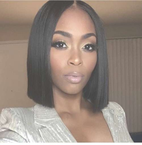 40 Bob Hairstyles For Black Women 2017 | Herinterest/ Throughout Current Bob Medium Hairstyles For Black Women (View 3 of 15)