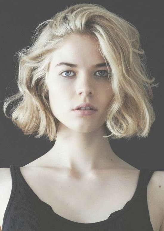 40 Gorgeous Wavy Bob Hairstyles To Inspire You | Wavy Bobs, Bob Intended For Wavy Bob Hairstyles (View 2 of 25)