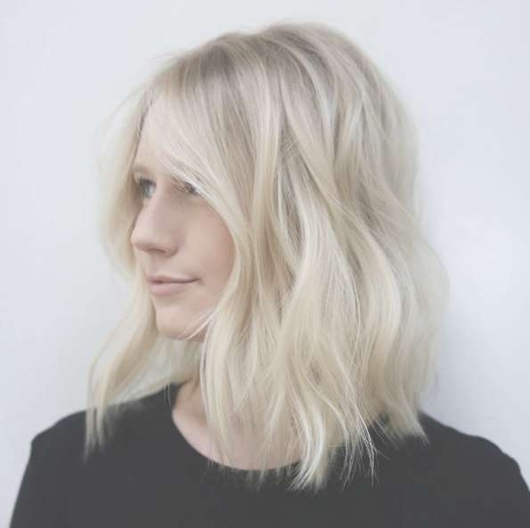 40 Most Flattering Medium Length Hairstyles For Thin Hair – Style With Regard To Most Popular Medium Hairstyles For Thin Hair (View 9 of 25)