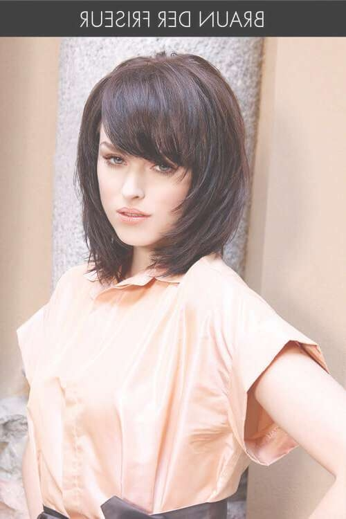 40 Perfect Hairstyles For Thick Hair (Popular For 2018) With Latest Medium Haircuts For Thick Hair With Bangs (View 14 of 25)