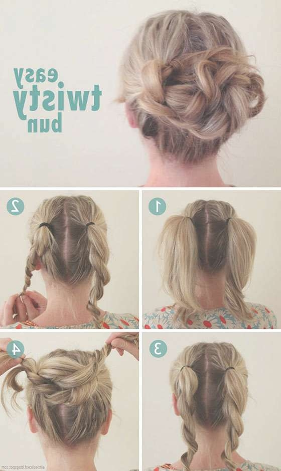 15 Best Collection Of Updo Medium Hairstyles