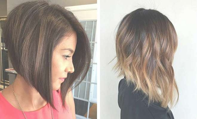 41 Best Inverted Bob Hairstyles | Stayglam Intended For Inverted Bob Hairstyles (View 15 of 25)