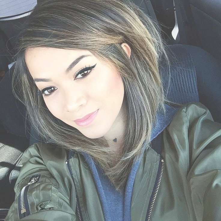 419 Best Shoulder Length Hair Images On Pinterest | Hairstyle For 2018 Medium Hairstyles And Colors (View 20 of 25)
