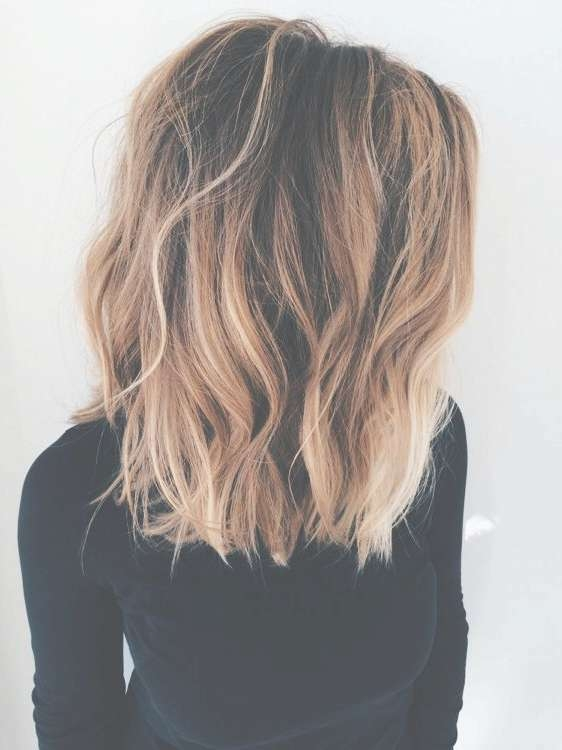 419 Best Shoulder Length Hair Images On Pinterest | Hairstyle For Newest Medium Hairstyles And Colors (View 16 of 25)