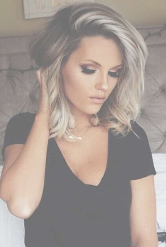 420 Best Shoulder Length Hair Images On Pinterest | Hairstyle With Most Recently Medium Haircuts For Curvy Women (View 20 of 25)