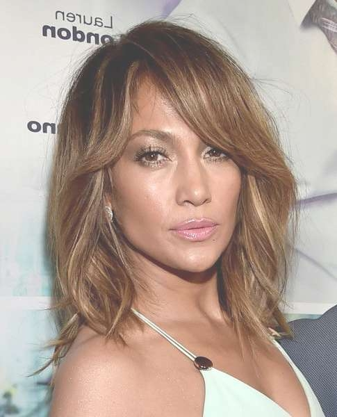 427 Best Medium Hairstyles Images On Pinterest | Medium Hair With Regard To Most Recently Jennifer Lopez Medium Haircuts (View 4 of 25)
