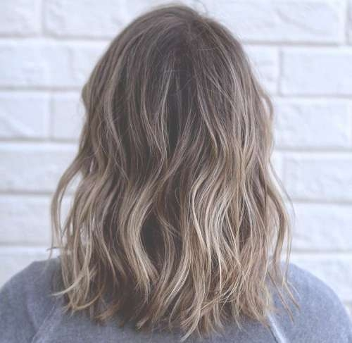 45 Balayage Hairstyles 2018 – Balayage Hair Color Ideas With In Most Recently Medium Hairstyles With Balayage (View 7 of 15)
