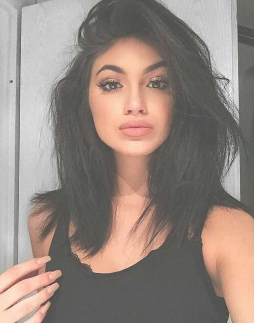 47 Best Hair Ideas Images On Pinterest | Hair Cut, Short Hair And For Best And Newest Kylie Jenner Medium Haircuts (View 7 of 25)