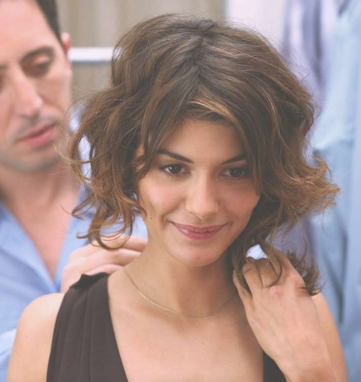 Photo Gallery Of Audrey Tautou Medium Haircuts Showing 2 Of 25 Photos