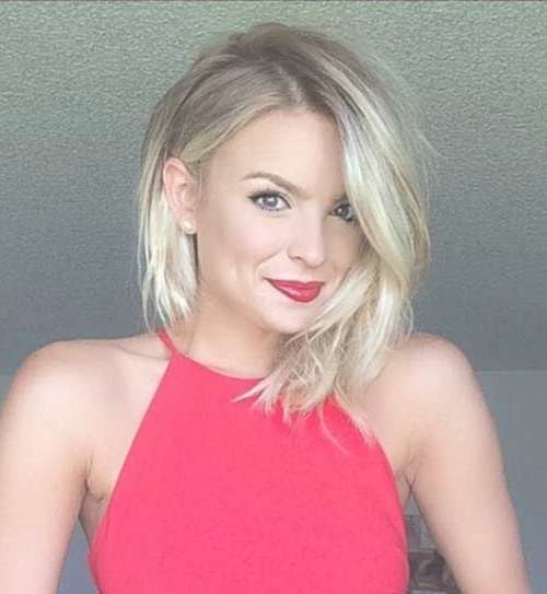 50 Adorable Asymmetrical Bob Hairstyles 2018 – Hottest Bob Within Most Recently Asymmetrical Medium Hairstyles (View 9 of 25)