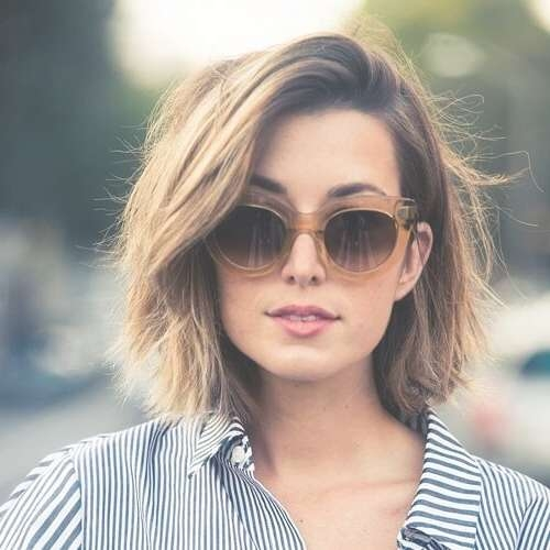 50 Alluring Short Haircuts For Thick Hair | Hair Motive Hair Motive Intended For 2018 Low Maintenance Medium Haircuts For Round Faces (View 8 of 25)