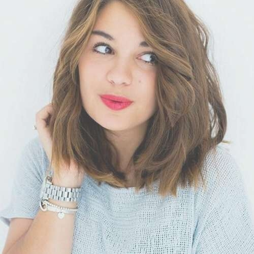 50 Alluring Short Haircuts For Thick Hair   Hair Motive Hair Motive Within Recent Medium Haircuts For Thick Frizzy Hair (View 15 of 25)