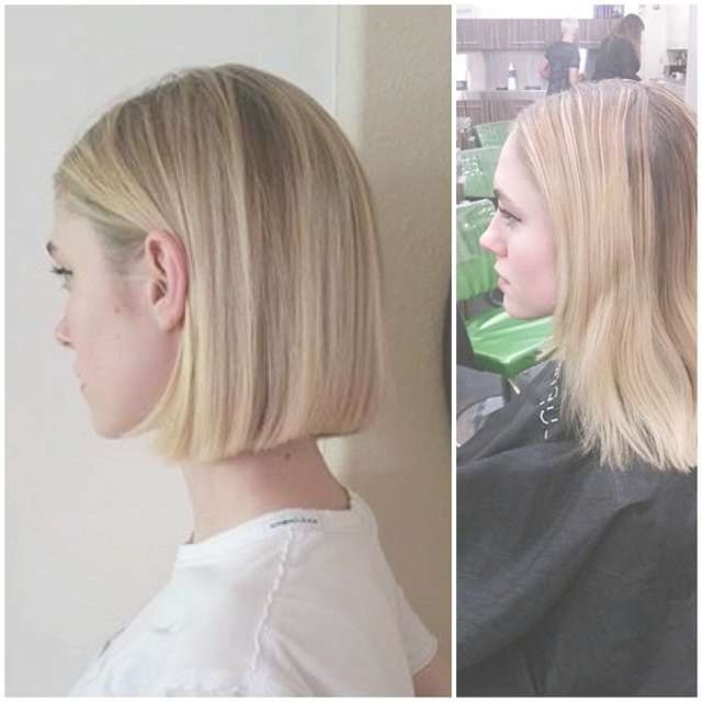 50 Amazing Blunt Bob Hairstyles 2018 – Hottest Mob & Lob Hair Inside Straight Bob Hairstyles (View 15 of 25)