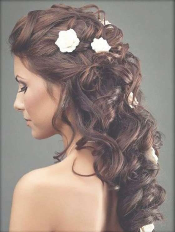 50 Best Indian Hairstyles You Must Try In 2018 Inside Recent Medium Hairstyles For Indian Wedding (View 4 of 15)
