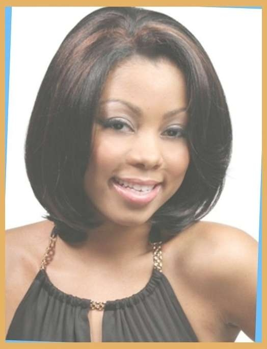 50 Best Medium Hairstyles For Black African American Women 2016 For Most Recent Medium Hairstyles For African American Women (View 11 of 25)