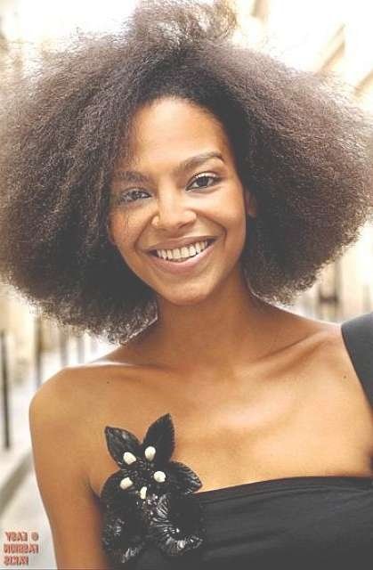 50 Best Medium Hairstyles For Black African American Women 2017 In Recent Medium Haircuts For Natural Hair Black Women (View 21 of 25)