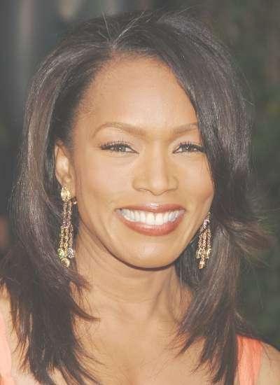 50 Best Medium Hairstyles For Black African American Women – 2018 Inside Most Popular African American Medium Hairstyles (View 25 of 25)