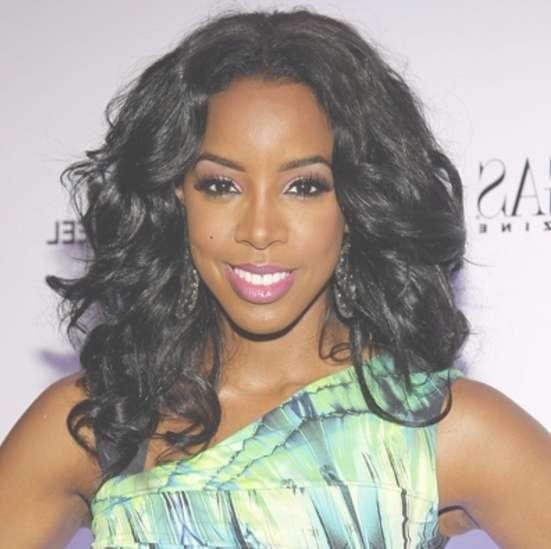 50 Best Medium Hairstyles For Black African American Women – 2018 Intended For Latest Medium Hairstyles On Black Women (View 6 of 25)