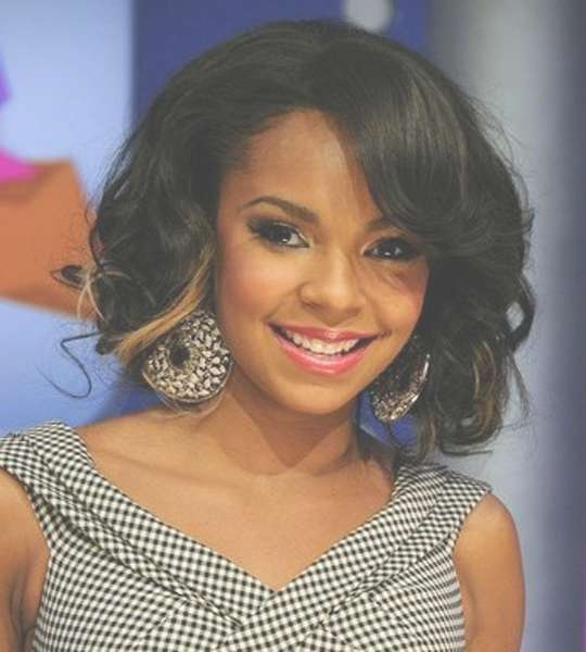 50 Best Medium Hairstyles For Black African American Women – 2018 Within Current Medium Hairstyles For Black Hair (View 11 of 25)