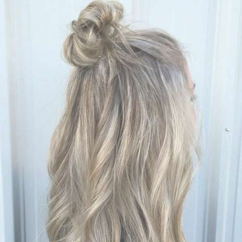50 Dazzling Medium Length Hairstyles | Hair Motive Hair Motive Within Best And Newest Half Up Medium Hairstyles (View 5 of 25)