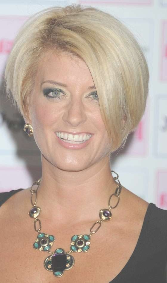 Image Gallery Of One Side Longer Bob Haircuts View 18 Of 25 Photos