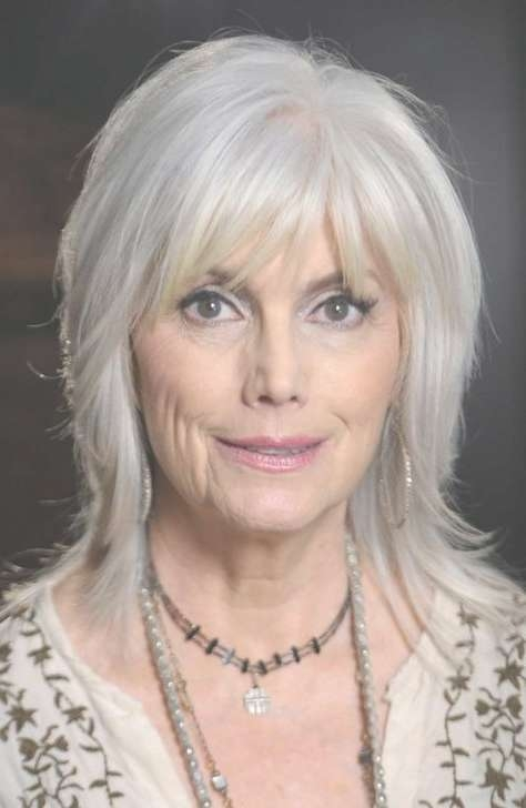 50 Shades Of Grey Hair Trends And Styles   Grey Hairstyle Intended For Best And Newest Medium Haircuts For Grey Haired Woman (View 14 of 25)