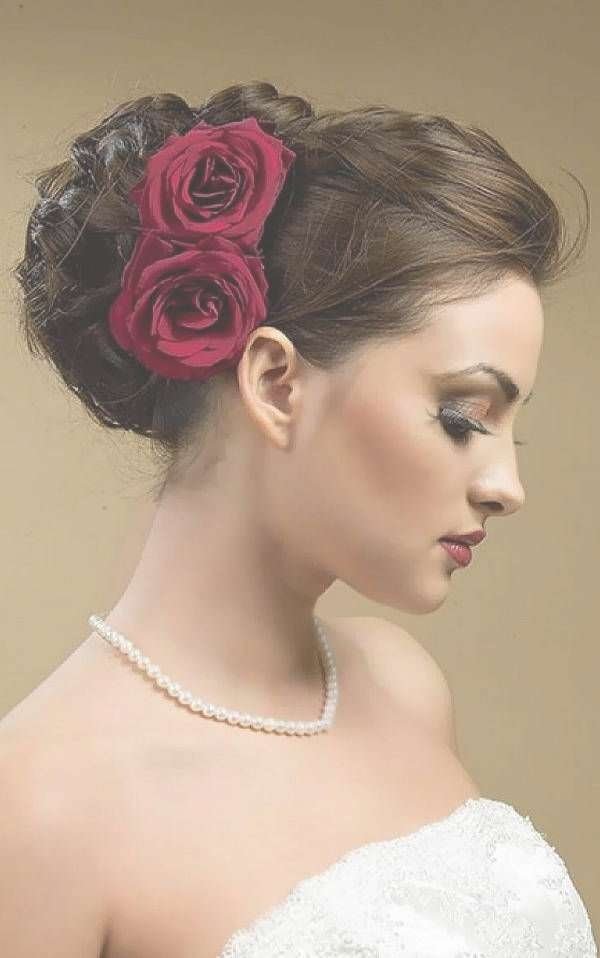 51 Best Indian Wedding Hair Images On Pinterest | Bridal Within Most Current Indian Bridal Medium Hairstyles (View 9 of 25)