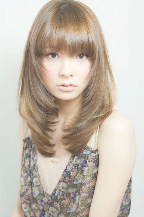 51 Must See Layered Haircut To See Before Your Next Salon Trip With Most Popular Medium Haircuts With Bangs And Layers (View 20 of 25)