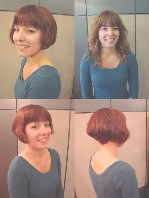 515 Best 16111 Makeovers (1) Images On Pinterest | Hairstyles Pertaining To Bob Haircuts Makeover (View 17 of 25)