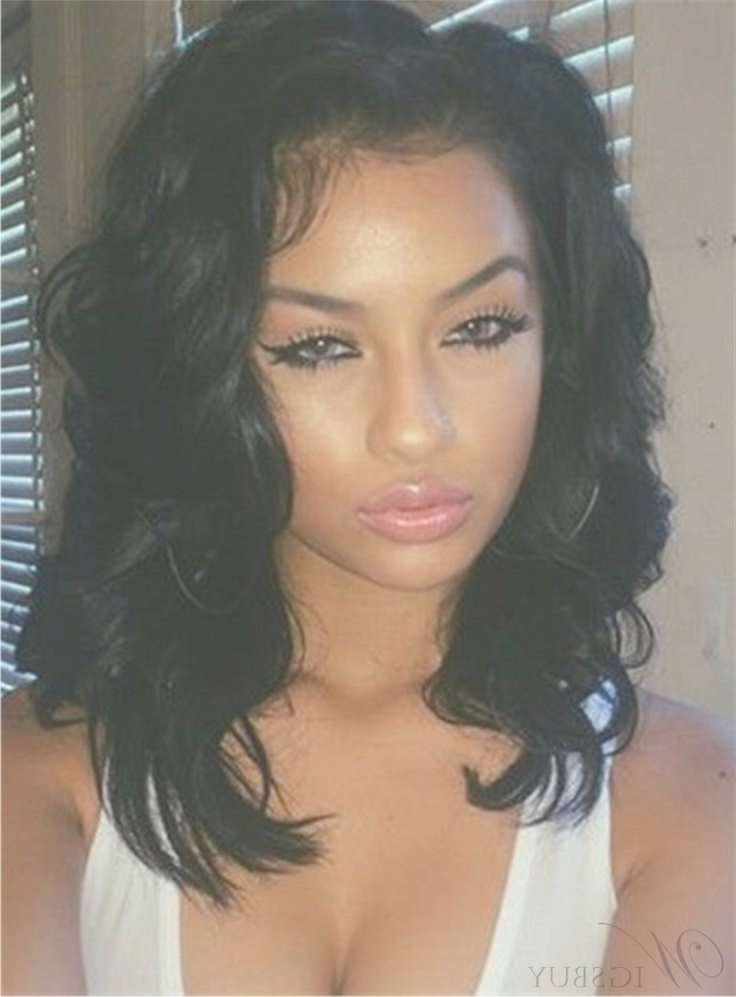 519 Best African American Wigs Images On Pinterest | Beauty For Newest Sexy Black Medium Hairstyles (View 3 of 15)