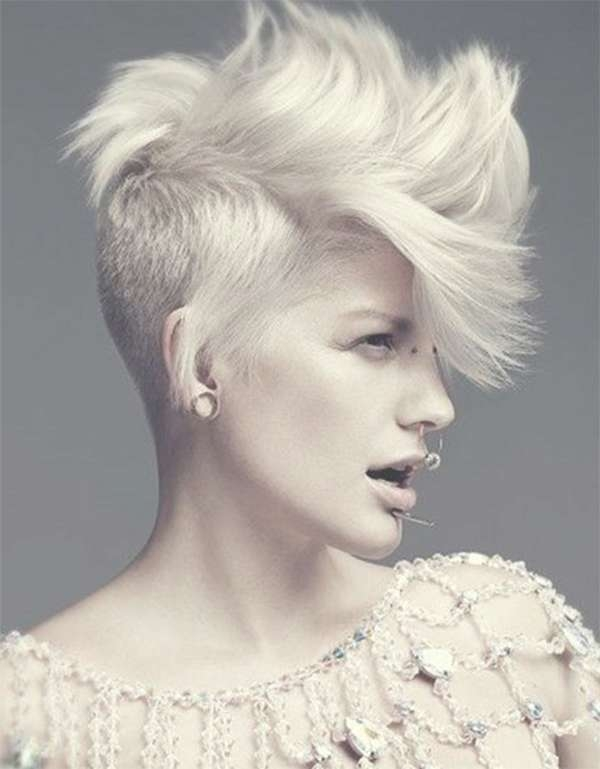 52 Of The Best Shaved Side Hairstyles In Most Recent Medium Haircuts With One Side Shaved (View 8 of 25)