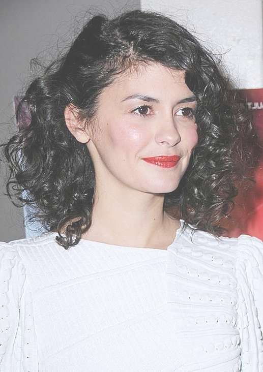 520 Best Audrey Tautou Images On Pinterest   Audrey Tautou, Hair Intended For 2018 Audrey Tautou Medium Haircuts (View 18 of 25)