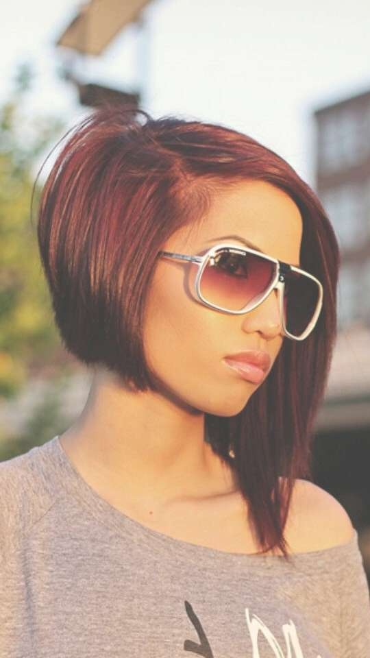 53 Best My Style Images On Pinterest | Hair Cut, Hair Styles And With Regard To Most Popular Edgy Asymmetrical Medium Haircuts (View 9 of 25)