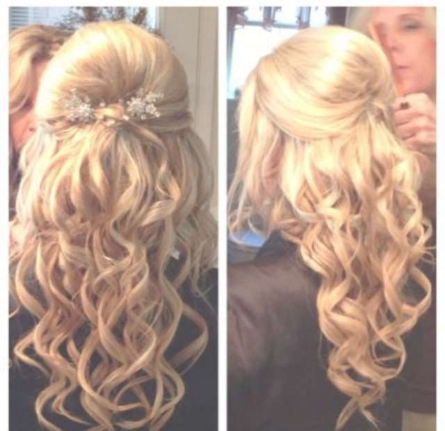55 Best Prom Images On Pinterest | Wedding Hair Styles, Hair Ideas In Most Recently Medium Hairstyles For Dances (View 13 of 25)