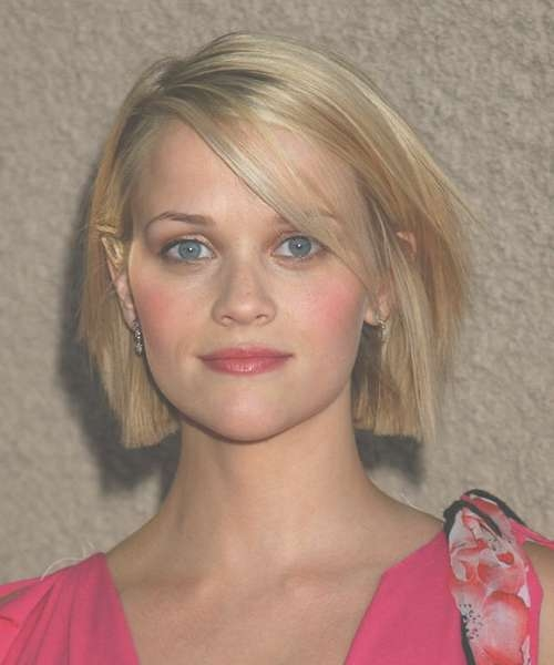 55+ Cute Bob Haircuts And Hairstyles Inspiredcelebrities 2017 Pertaining To Blunt Cut Bob Haircuts (View 11 of 25)