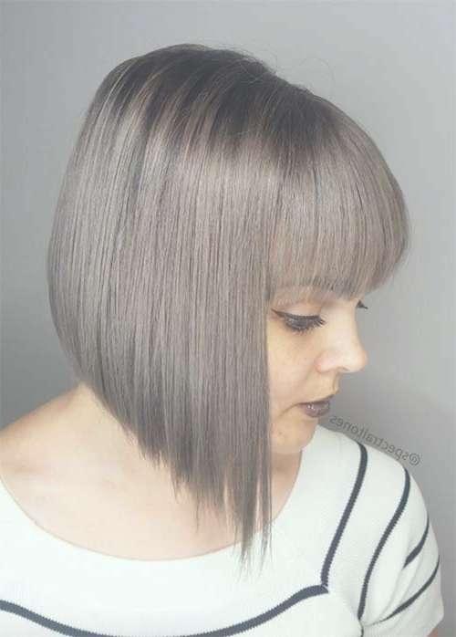 55 Incredible Short Bob Hairstyles & Haircuts With Bangs For Short Bob Hairstyles With Fringe (View 9 of 25)