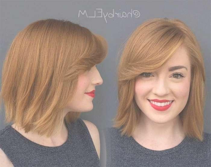 55 Incredible Short Bob Hairstyles & Haircuts With Bangs In Ginger Bob Haircuts (View 3 of 25)