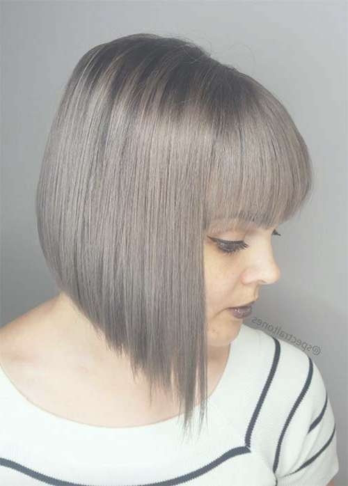 55 Incredible Short Bob Hairstyles & Haircuts With Bangs Intended For Short Bob Hairstyles With Bangs (View 12 of 25)
