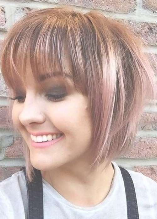 55 Incredible Short Bob Hairstyles & Haircuts With Bangs Within Short Bob Hairstyles With Bangs (View 17 of 25)