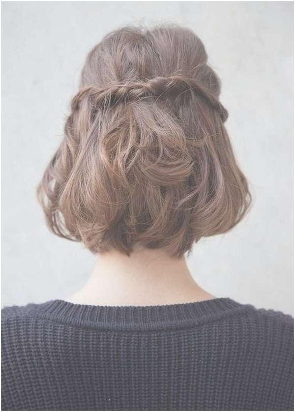 55+ Stunning Half Up Half Down Hairstyles Within Recent Half Up Medium Hairstyles (View 20 of 25)