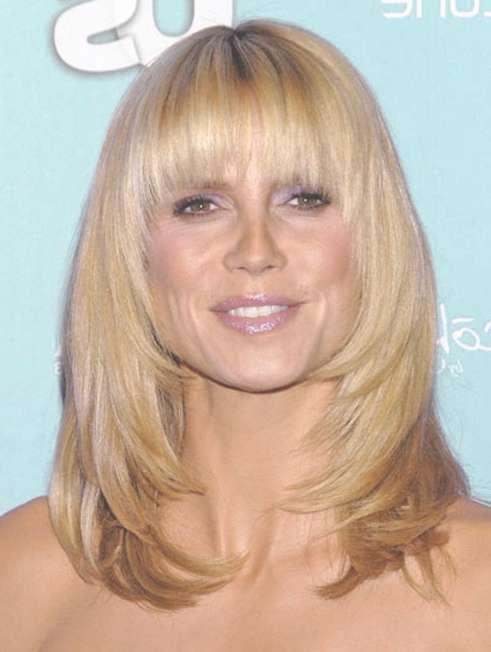 57 Fabulous Hairstyles With Bangs | Hairstylo With Regard To Most Recent Medium Haircuts With Full Bangs (View 22 of 25)