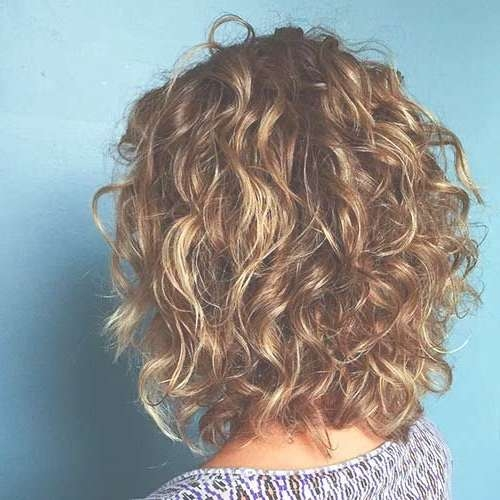 58 Short Bobs Hair Cuts Hairstyles 2018 | Curly, Hair Cuts And For Current Medium Hairstyles With Layers And Curls (View 8 of 25)
