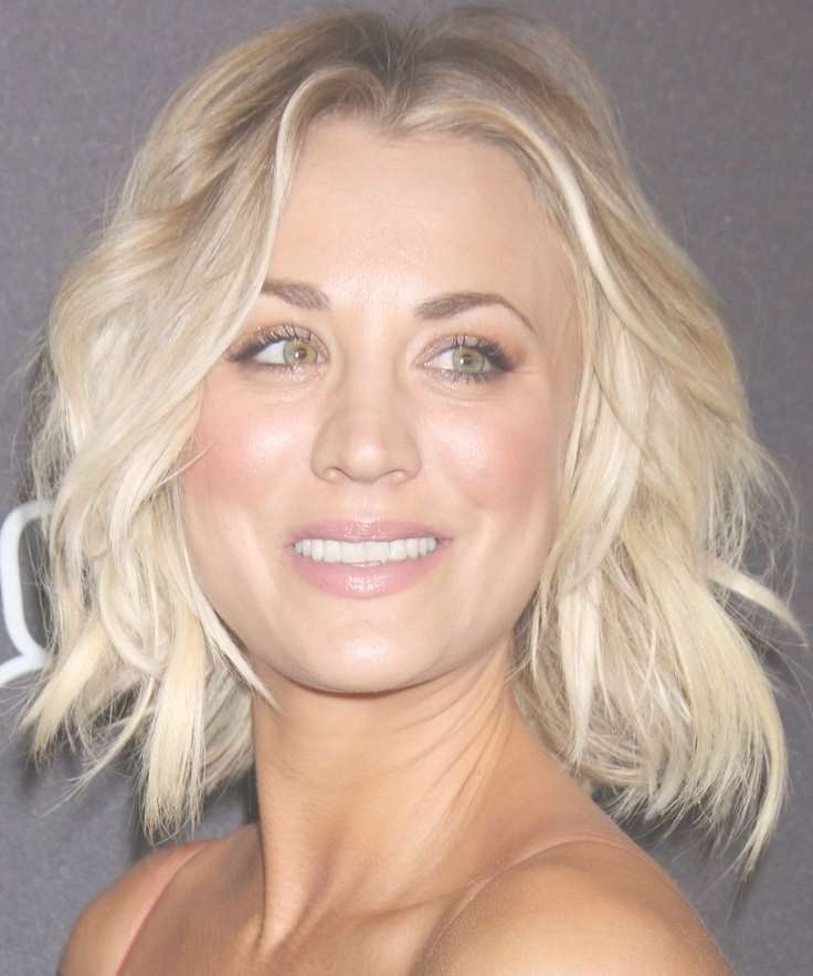 View Gallery Of Kaley Cuoco New Medium Haircuts Showing 15 Of 25