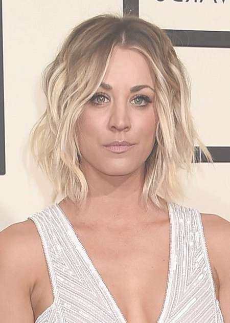 60 Best Kailey Cuoco Short Hairstyle Images On Pinterest | Short Inside Most Up To Date Kaley Cuoco New Medium Haircuts (View 6 of 25)