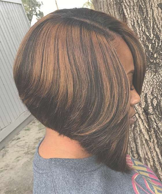 60 Bob Haircuts For Black Women Pertaining To Most Up To Date Edgy Medium Haircuts For Black Women (View 10 of 25)