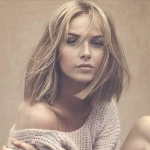 60 Gorgeous Blunt Cut Hairstyles – The Haircut That Works On With Regard To Most Up To Date Blunt Medium Hairstyles (View 10 of 25)