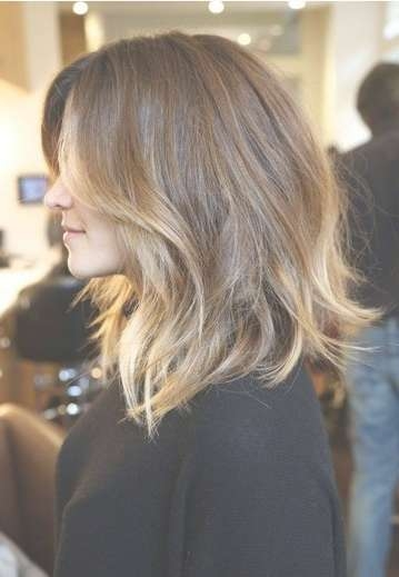 60+ Popular Shoulder Length Hairstyles Inside Current Ombre Medium Hairstyles (View 20 of 25)