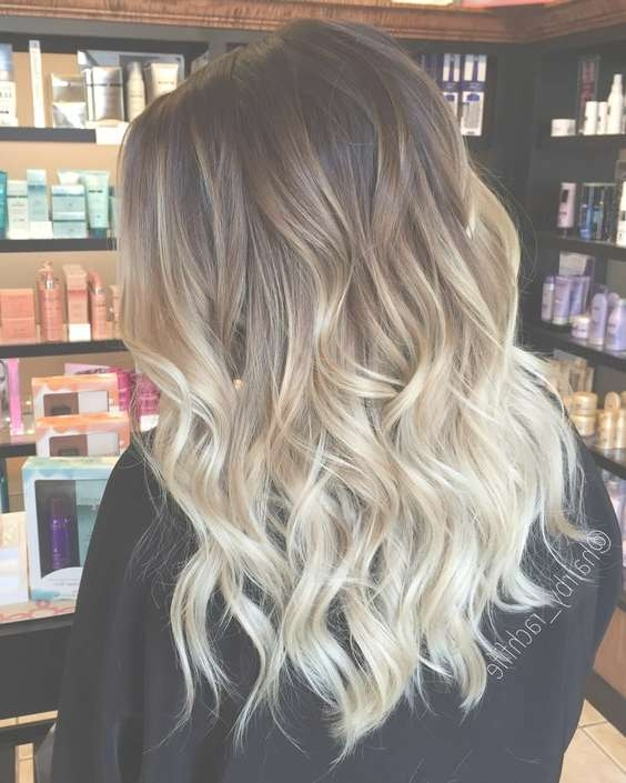 60 Trendy Ombre Hairstyles 2018 – Brunette, Blue, Red, Purple For Best And Newest Ombre Medium Hairstyles (View 8 of 25)