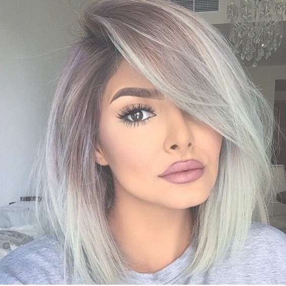 60 Trendy Ombre Hairstyles 2018 – Brunette, Blue, Red, Purple Inside Most Current Ombre Medium Hairstyles (View 10 of 25)